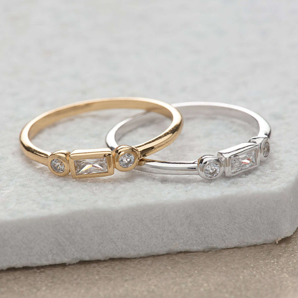 Ring - Baguette And Bezel Ring