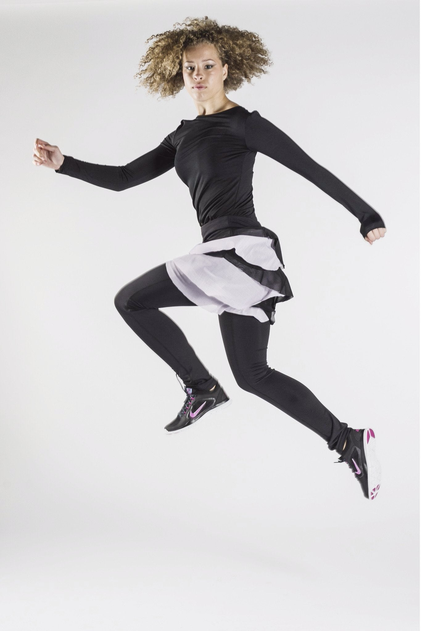 Mesh Love Skirted legging | Modest activewear