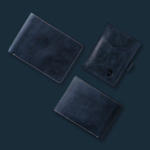 Wallor, a handcrafted super slim fit wallet for men, made from the highest quality leather.