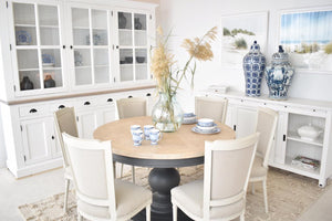 DINING ROOM: FEATURING MODERN COUNTRY WITH TRENDY DÉCOR