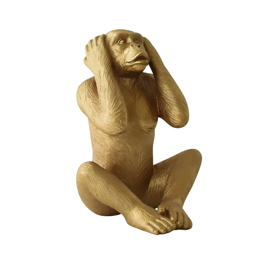 gold monkey decor, home accessories dubai