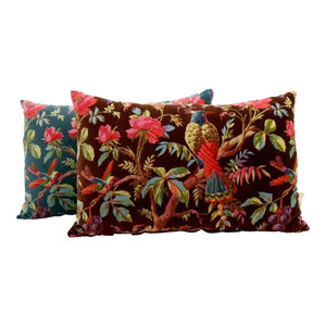 Multi Color Birds Cushion in Paradise