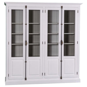 McKinley Bookshelf with Crémone Locks-Cozy Home Dubai