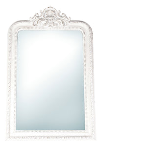 Versailles Mirror in Weathered White-Cozy Home Dubai