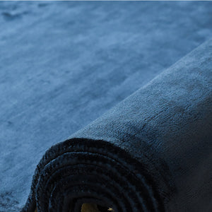 viscose rugs, blue color dubai
