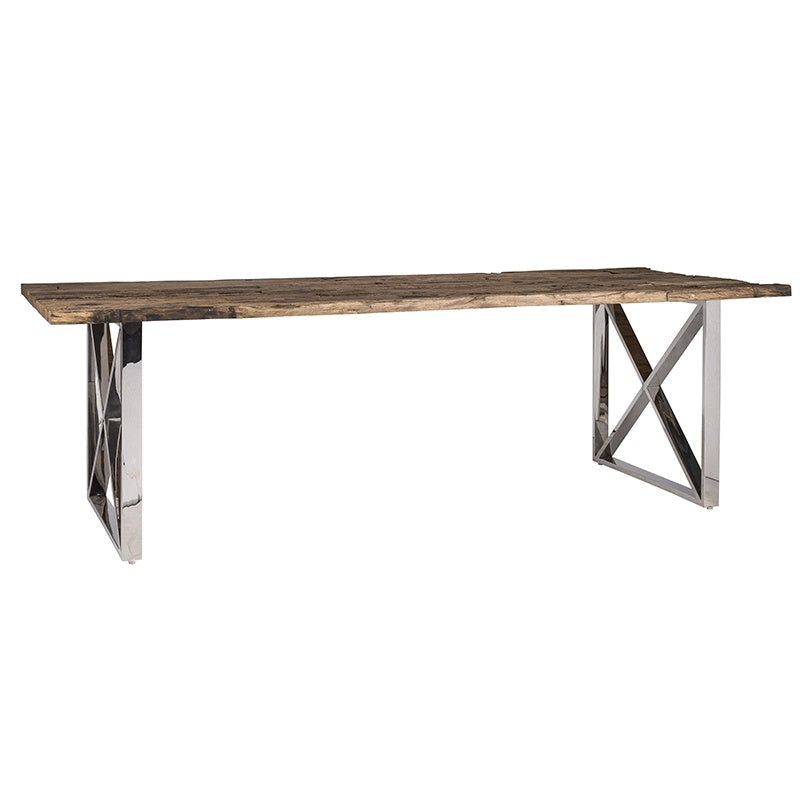 Driftwood Sleeper Dining Table