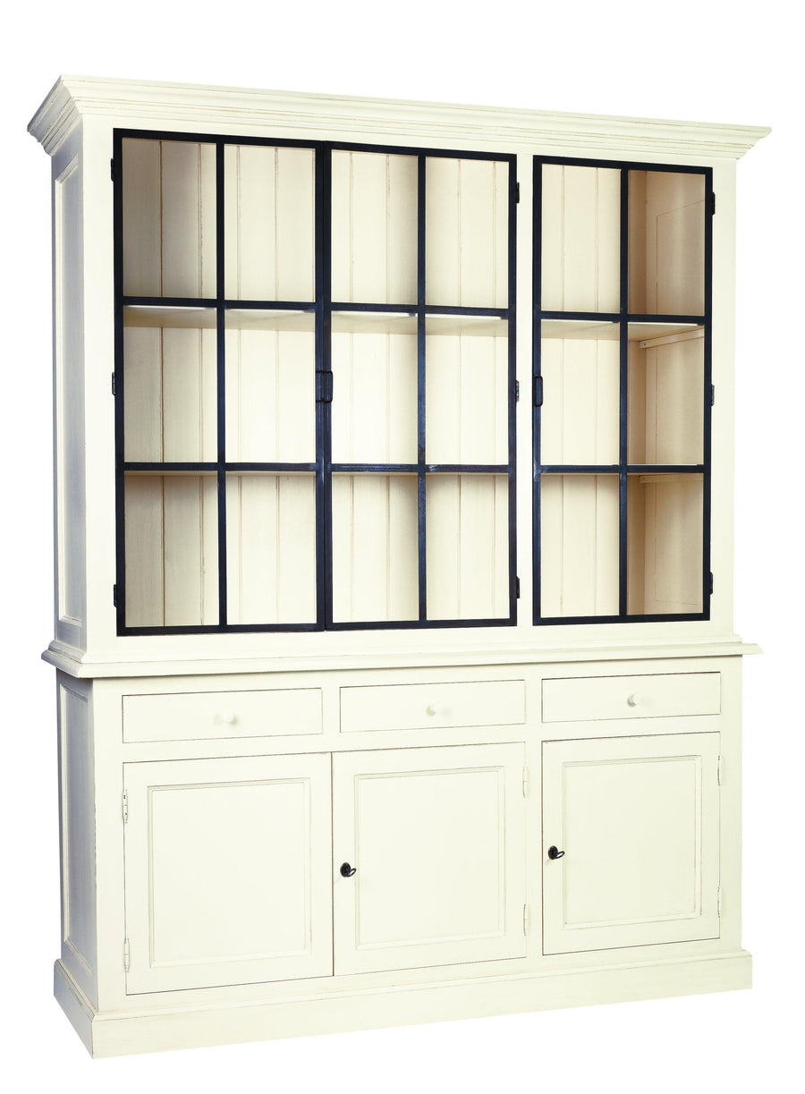Edwards Metal Door Cabinet Showcase-Cozy Home Dubai