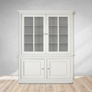 home furniture cabinets, cream color with storage unit