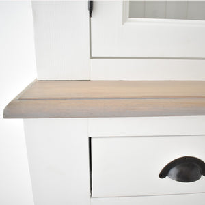 furniture with drawers dubai, oak with white wood