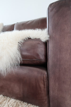 Kennedy 4 seater Leather Sofa