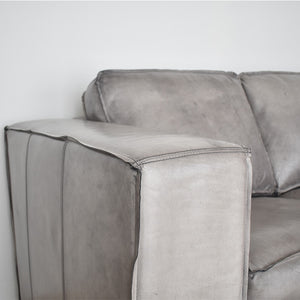 leather sofa with broad arm dubai