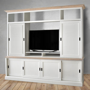 tv cabinet with sliding door in Dubai