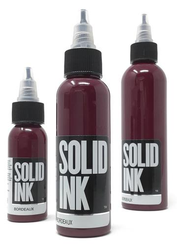 Solid Ink Bordeaux