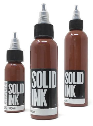 Solid Ink Brown