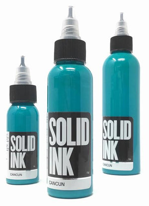 Solid Ink Cancun Blue