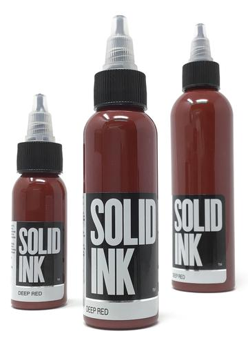 Solid Ink Deep Red