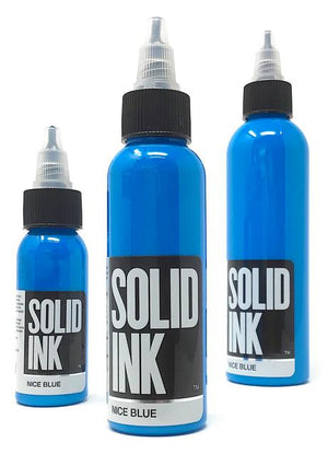 Solid Ink Nice Blue