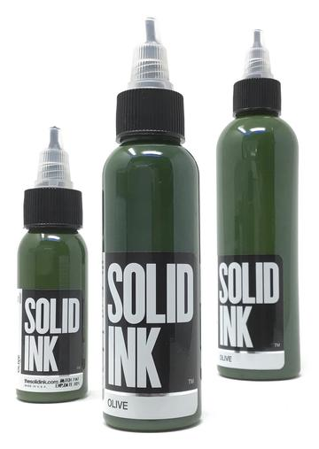 Solid Ink Olive - Tattoo Ink - FYT Canada