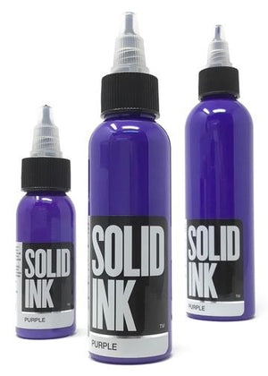 Solid Ink Purple