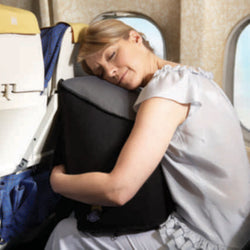 Inflatable Travel Pillow Cushion With Arm Sleeves