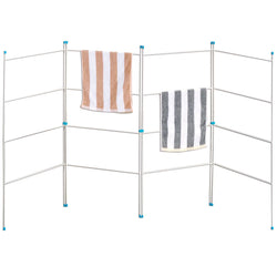 Folding Clothes Airer / Drying Rack / Rail - Compact Clothes Horse / Radiator Drier