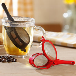 2 x Loose Leaf Tea or Coffee Infuser / Strainer or Herbal Tea Filter - Diffuser for Single Mug / Cup