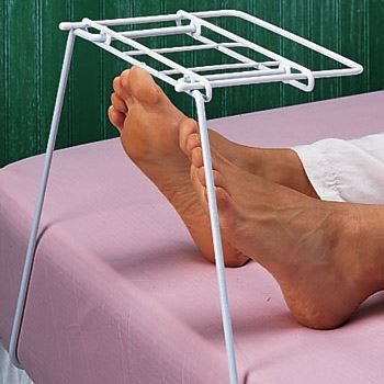 Sheet and Blanket Support - Protector Cradle Holds Covers Above Legs and Feet