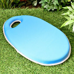 Garden Kneeler / Kneeling Knee Pad - Blue Memory Foam with Waterproof Cover for Outdoor Gardening