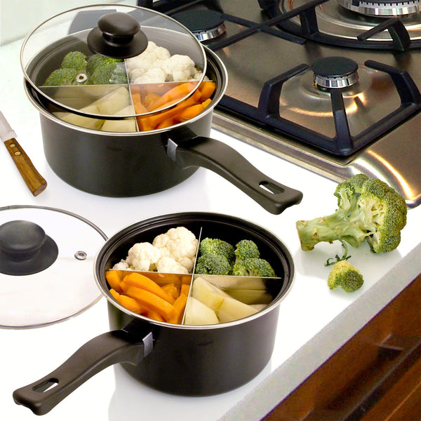 "4-Way Saucepans - 6"" and/or 8"" Diameter"