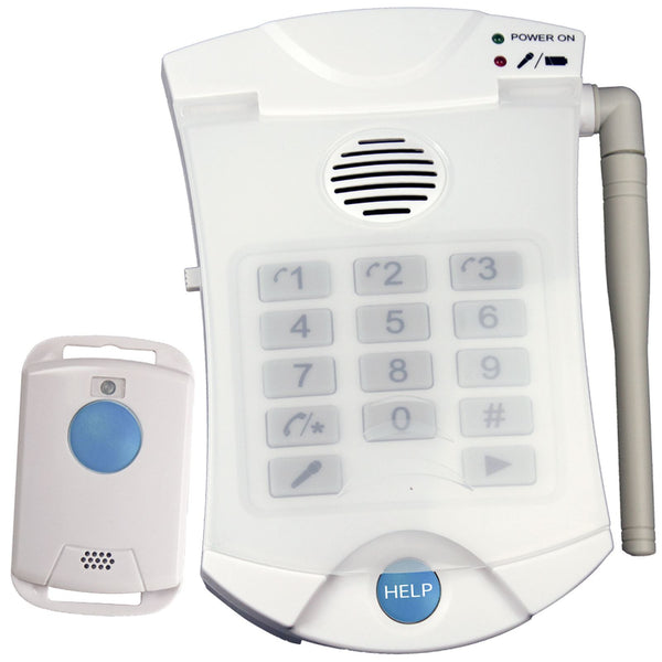 Elderly OAP Panic Alarm SOS Button Auto Dial Home Safety Alert Care Call Fall