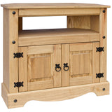 Corona Living Room Furniture - Oak Effect - Coffee Table, Shelves, TV Unit, Magazine Rack, Drawers
