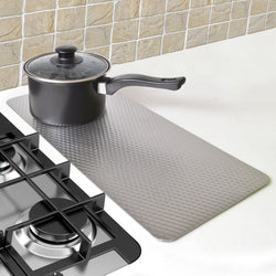 Heat Resistant Kitchen Mat - Perfect As A Trivet For Hot Cookware