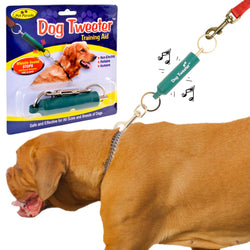 Tweeter Dog Training Aid Attachment - High Pitched Ultrasonic Sound To Discourage Pulling on The Lead