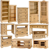 Chest Of Drawers 4 Drawer Oak Effect Pine Wooden Rustic Country Bedroom