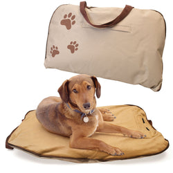 Zip Up Portable Cosy Pet Bed For Easy Travelling With Dogs And Cats
