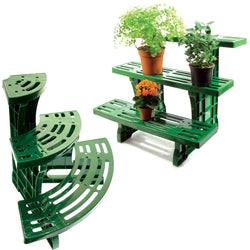 3-tier Etagere Potted Plant Display Stand - Straight or Corner