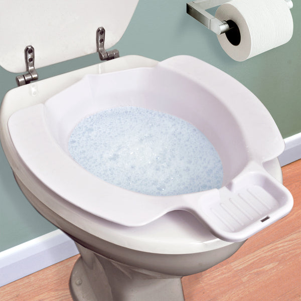 Lightweight Portable Travel Bidet With Integral Soap Dish