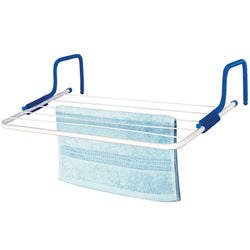 Clothes Airer Drier Drying Rack Rail Airing Horse Cloth Four Fold Folding