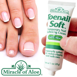 Miracle Toenail Soft Softener Softens Helps Prevent Ingrowing Toe Nails 60% Aloe