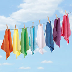 8 Microfibre Cloths / Dusters / Towels - Super Absorbent and Ideal for Cleaning the Bathroom or Inside of Car