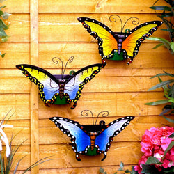 Butterfly Wall Planters - Set of 3