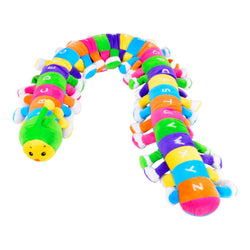 Caterpillar Toy Alphabet Letters Soft Toddler Colourful Rainbow Baby
