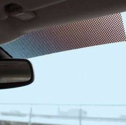 Car Windscreen Sunlight Glare Blocking Panel - Blocker Strip For Space Between Sun Visors
