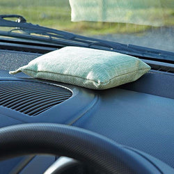 Set of 2 Natural Air Purifying Bags To Keep Car Interior Windows Mist Free