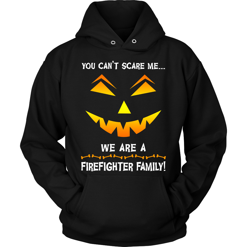 We Are a Firefighter Family Halloween Sweatshirt | Heroic Defender