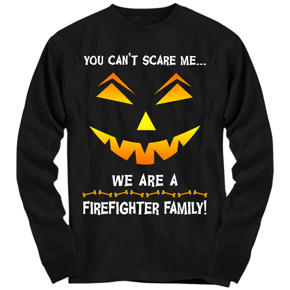We Are a Firefighter Family Halloween Shirt | Heroic Defender