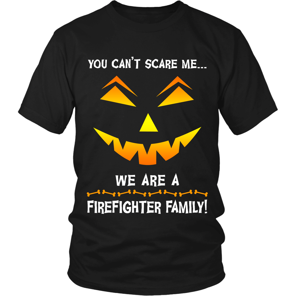 We Are a Firefighter Family Halloween Shirt - Heroic Defender