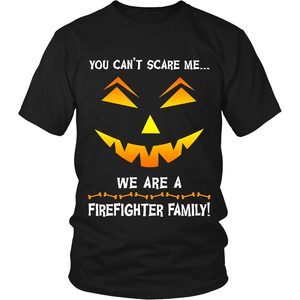 We Are a Firefighter Family Halloween Shirt