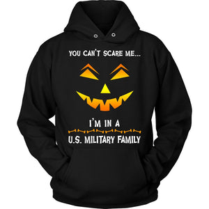 You Can't Scare Me Military Halloween Sweatshirt
