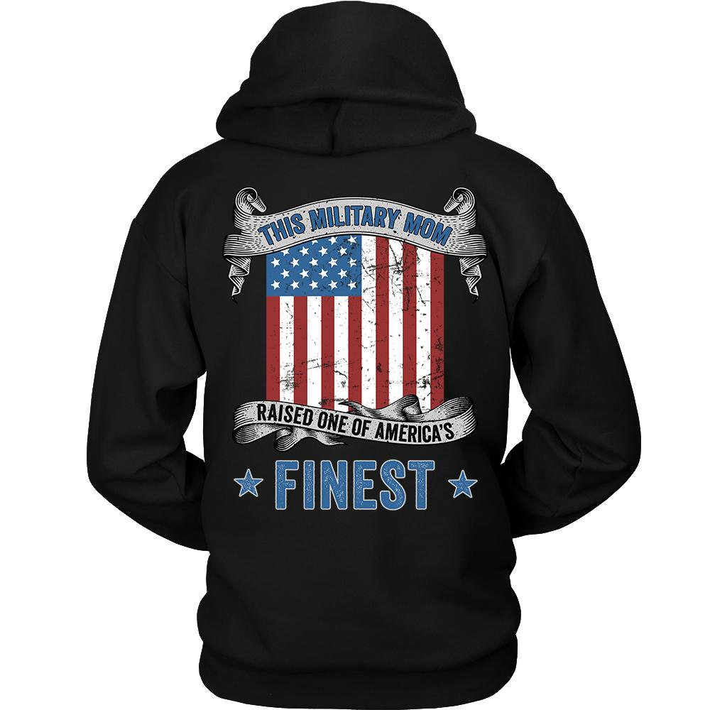 Military Mom Raised America's Finest Sweatshirt | Heroic Defender